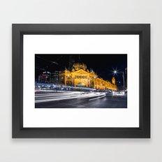 Flinders Street Station Framed Art Print