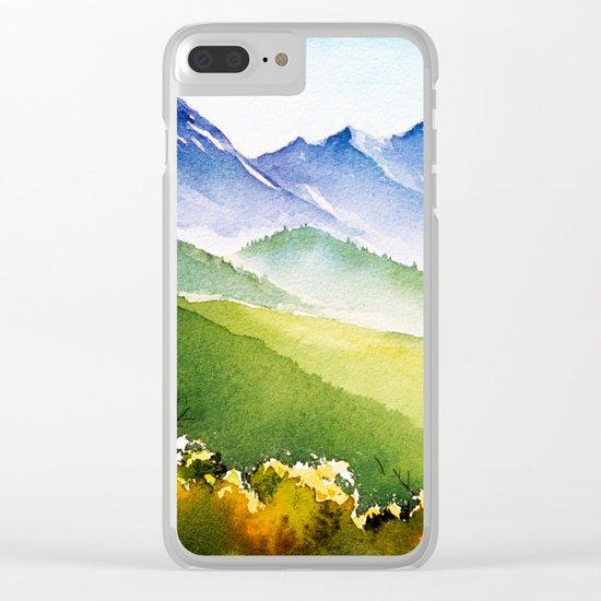 Autumn landscape #1 Clear iPhone Case