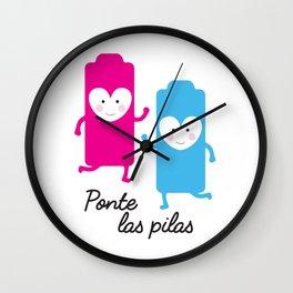 Ponte las Pilas Wall Clock