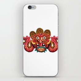 Necklace of Skulls -Mayan iPhone Skin