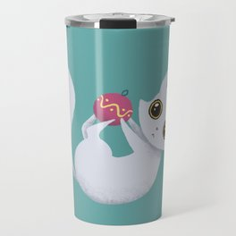 Mischievous kitty Travel Mug