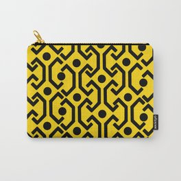 Ethnic Pattern (Yellow) Carry-All Pouch