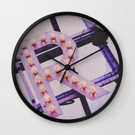 CAPITAL R Wall Clock