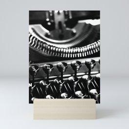 Typewriter No.5 Mini Art Print