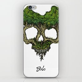 Roots (Color Version) iPhone Skin