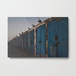 seaguls and doors Metal Print