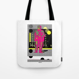 """Abstract poster """"GO"""" Tote Bag"""