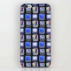 TV Pattern iPhone Skin