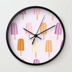 Ice Lolly - Popsicle Wall Clock