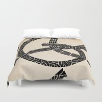 lovers Duvet Covers featuring - lovers - by Magdalla Del Fresto