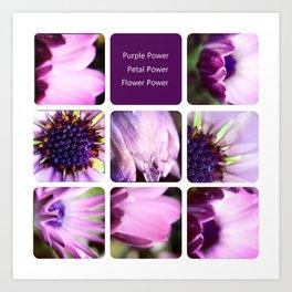 Purple Power Art Print