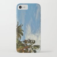 palms iPhone & iPod Cases featuring Palms by Magic Emilia