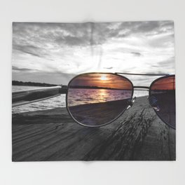 Sunset Perspective Throw Blanket