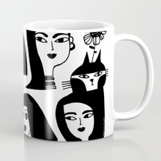 GIRLS AND ONE CAT Mug