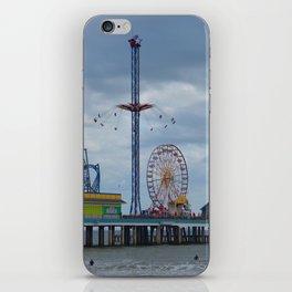 Pleasure Pier - Galveston Texas iPhone Skin