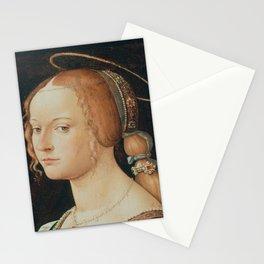 Renaissance Print Stationery Cards