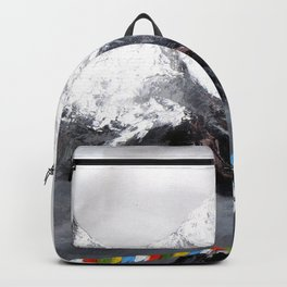Panoramic View Of Everest Mountain Backpack