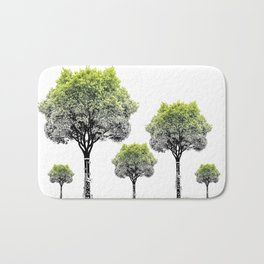 Rooted Sound V (clarinet) Bath Mat