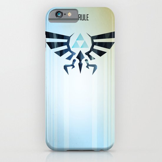The Legend of Zelda - Hyrule Rising Poster iPhone & iPod Case
