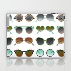 Sunglasses Collection – Mint & Tan Palette Laptop & iPad Skin