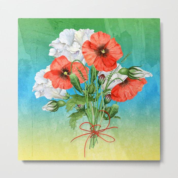 Flowers bouquet #24 Metal Print