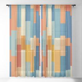 Classic Retro Choorile Sheer Curtain