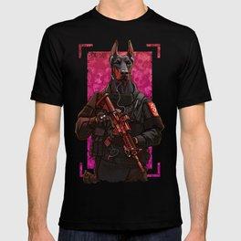 Polise dog two T-shirt