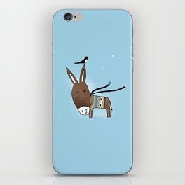 Happy Donkey iPhone Skin