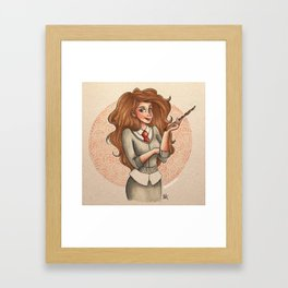 Hermione Framed Art Print