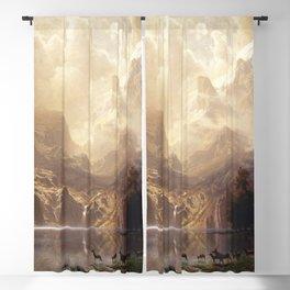 Albert Bierstadt - Among the Sierra Nevada, California Blackout Curtain