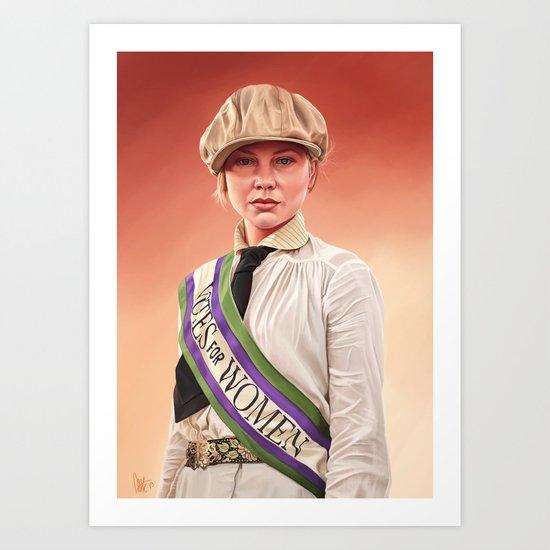 The Wannop Girl Art Print