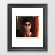 The Boy Who Lived Framed Art Print