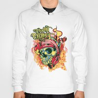 pirate Hoodies featuring Pirate by Tshirt-Factory