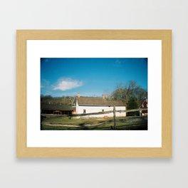 Historic Richmond Town, 2012 Framed Art Print