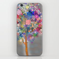 Floral abstract(56) iPhone & iPod Skin