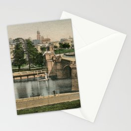 York general view and castle 1900 Stationery Cards