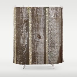 Grainwaves Shower Curtain