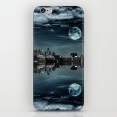 Night in the Reflection iPhone Skin