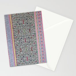 Song to Bring Blessings to a Marriage - Traditional Shipibo Art - Indigenous Ayahuasca Patterns Stationery Cards