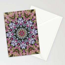 Summer leaves kaleidoscope Olbrich Botanical Gardens Stationery Cards
