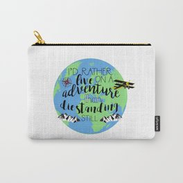 A Darker Shade of Magic Quote Carry-All Pouch