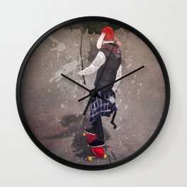 THE GREAT ESCAPE Wall Clock