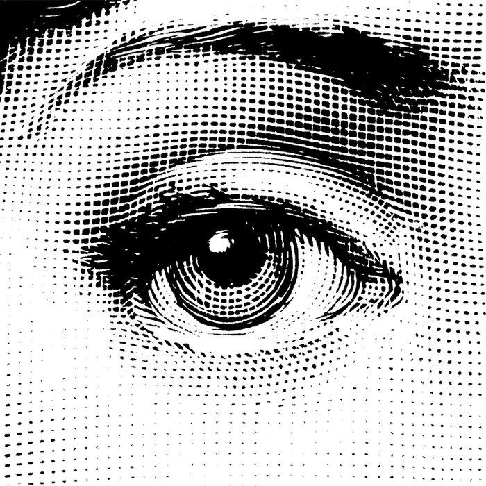 Lina Cavalieri Eye 01 Comforters