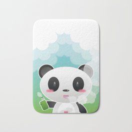 Vapers are Welcome (panda edition) Bath Mat