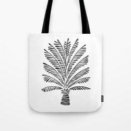 Palm Tree – Black Tote Bag