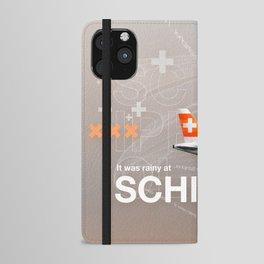 Schiphol iPhone Wallet Case