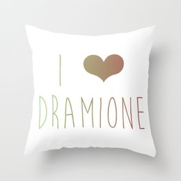 I Love Dramione Throw Pillow