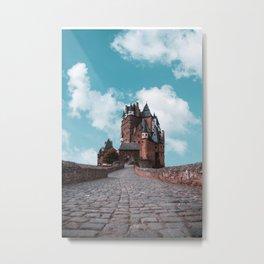 Burg Eltz Castle Germany Up in the Clouds Metal Print