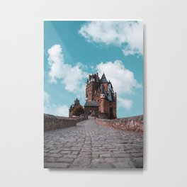 Burg Eltz Castle Germany Up in the Clouds Metal Print