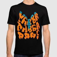 Yabba Dabba Doo! X-LARGE Black Mens Fitted Tee